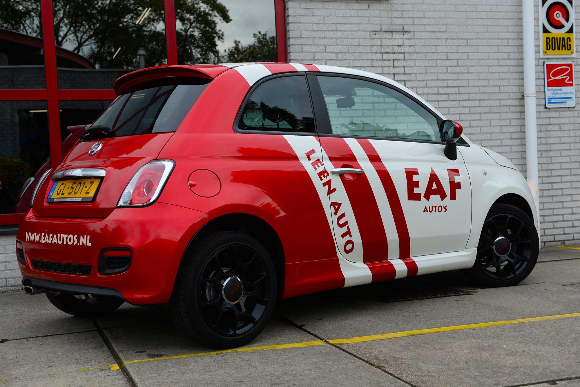 EAF Auto's leen auto