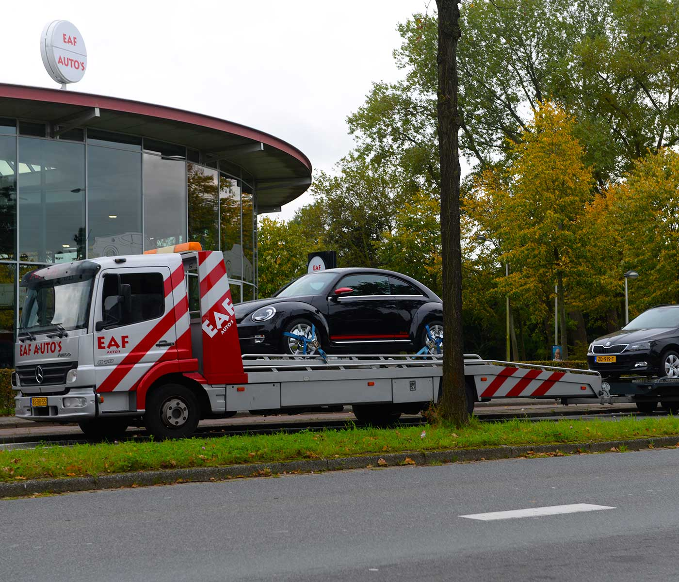 EAF Auto's haal en brengservice