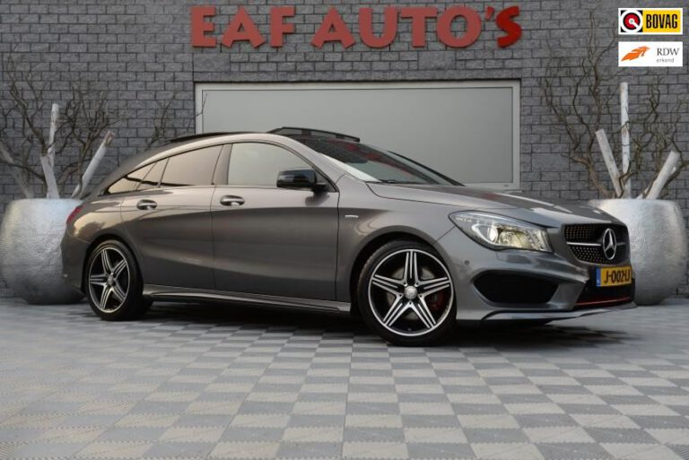 Mercedes-Benz CLA-klasse Shooting Brake 250 Sport 4MATIC AMG Pakket