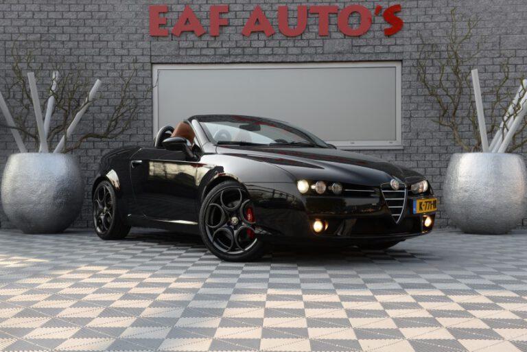Alfa Romeo Spider 1.7 T Exclusive 200 Pk