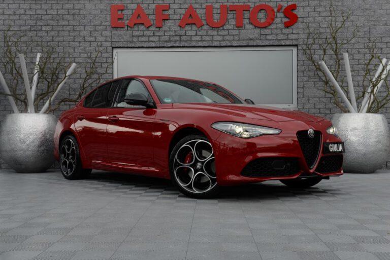 Alfa Romeo Giulia Automaat FACELIFT 2.0 T AWD Veloce